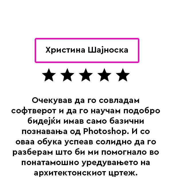 Hristina Shajnoska review