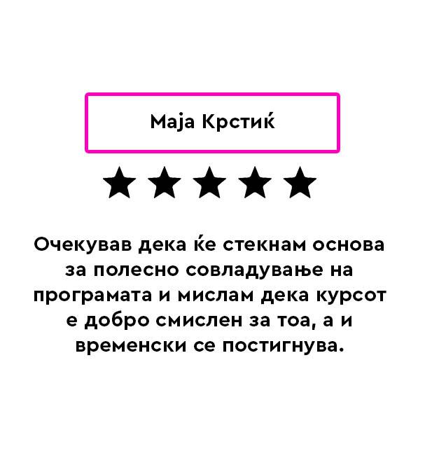 Maja Krstikj Review